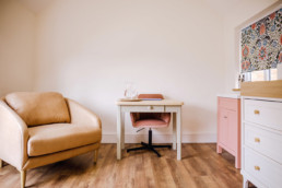 The consultation room at Gables Breastfeeding Clinic